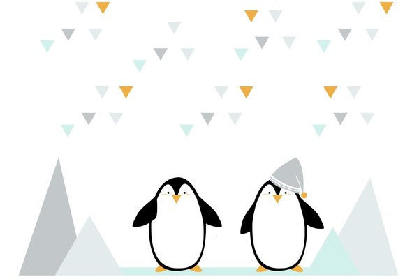 The penguins(Decorazione)